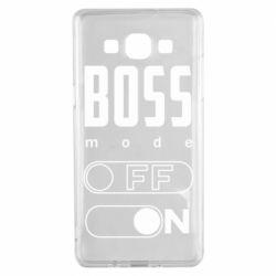 Чохол для Samsung A5 2015 Boss mode