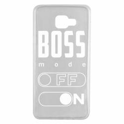 Чохол для Samsung A7 2016 Boss mode