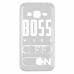 Чохол для Samsung J2 2015 Boss mode