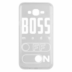 Чохол для Samsung J7 2015 Boss mode