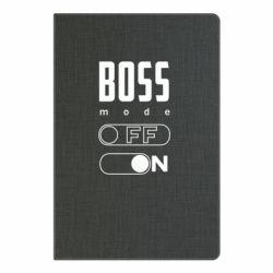 Блокнот А5 Boss mode