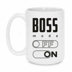 Кружка 420ml Boss mode