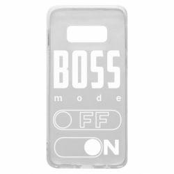 Чохол для Samsung S10e Boss mode