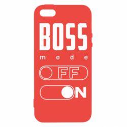 Чохол для iphone 5/5S/SE Boss mode
