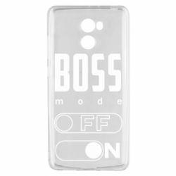 Чохол для Xiaomi Redmi 4 Boss mode