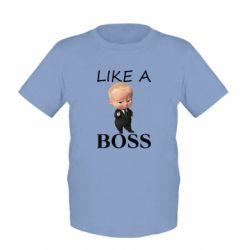 Детская футболка Boss