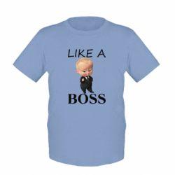 Дитяча футболка Boss