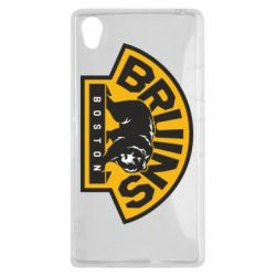Чехол для Sony Xperia Z1 Boston Bruins - FatLine