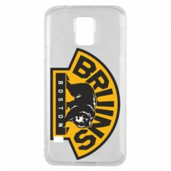Чехол для Samsung S5 Boston Bruins - FatLine