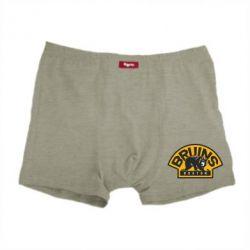 Мужские трусы Boston Bruins - FatLine