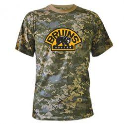 Камуфляжная футболка Boston Bruins - FatLine