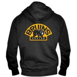 Мужская толстовка на молнии Boston Bruins - FatLine