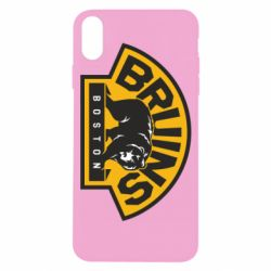 Чехол для iPhone X Boston Bruins - FatLine