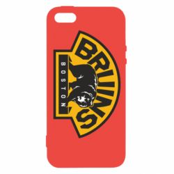 Чехол для iPhone5/5S/SE Boston Bruins - FatLine