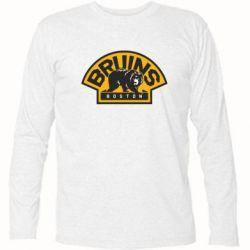 Футболка с длинным рукавом Boston Bruins - FatLine