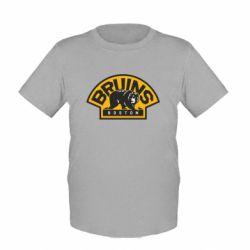 Детская футболка Boston Bruins - FatLine