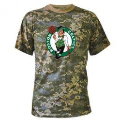 Камуфляжная футболка Boston Celtics - FatLine