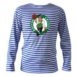 Тельняшка с длинным рукавом Boston Celtics - FatLine