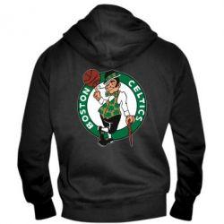 Мужская толстовка на молнии Boston Celtics - FatLine