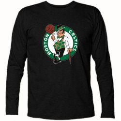 Футболка с длинным рукавом Boston Celtics - FatLine