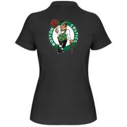 Женская футболка поло Boston Celtics - FatLine