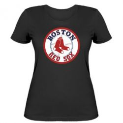 Женская футболка Boston Red Sox - FatLine