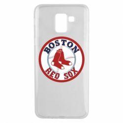Чохол для Samsung J6 Boston Red Sox