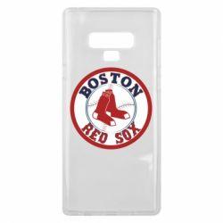 Чохол для Samsung Note 9 Boston Red Sox