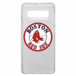 Чохол для Samsung S10+ Boston Red Sox
