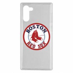 Чохол для Samsung Note 10 Boston Red Sox