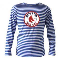 Тельняшка с длинным рукавом Boston Red Sox - FatLine