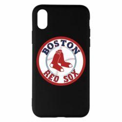 Чохол для iPhone X/Xs Boston Red Sox