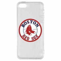 Чохол для iphone 5/5S/SE Boston Red Sox