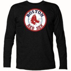 Футболка с длинным рукавом Boston Red Sox - FatLine