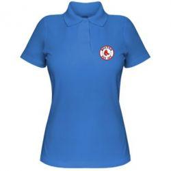 Женская футболка поло Boston Red Sox - FatLine