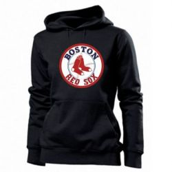 Женская толстовка Boston Red Sox - FatLine