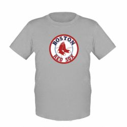 Детская футболка Boston Red Sox - FatLine