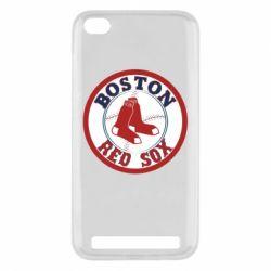 Чохол для Xiaomi Redmi 5a Boston Red Sox