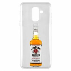 Купить Jim Beam, Чехол для Samsung A6+ 2018 Bottle, FatLine