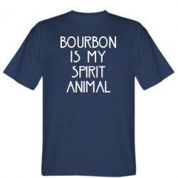 Футболка Bourbon is my spirit animal