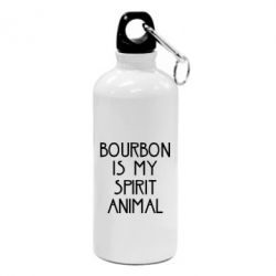 Купить Фляга Bourbon is my spirit animal, FatLine