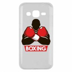 Чехол для Samsung J2 2015 Box Fighter