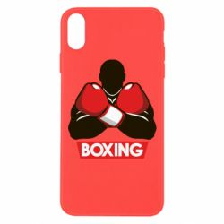 Чехол для iPhone Xs Max Box Fighter