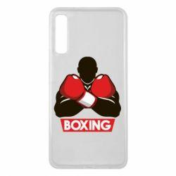 Чехол для Samsung A7 2018 Box Fighter