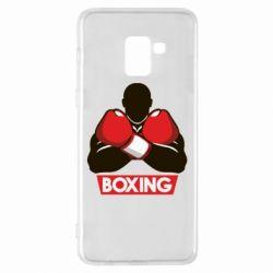 Чехол для Samsung A8+ 2018 Box Fighter
