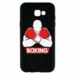 Чехол для Samsung A7 2017 Box Fighter