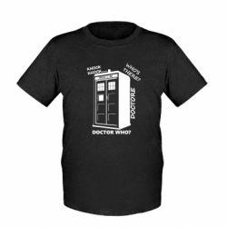 Дитяча футболка Box