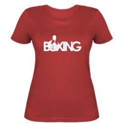 Женская футболка Boxing Art - FatLine