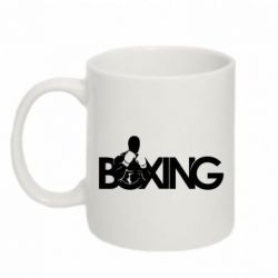 Кружка 320ml Boxing Art