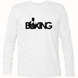 Футболка с длинным рукавом Boxing Art - FatLine
